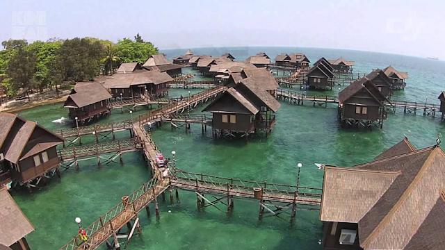 Secara catatan resmi pulau ini masuk dalam wilayah atau kabupaten Kepulauan Seribu Pulau Ayer