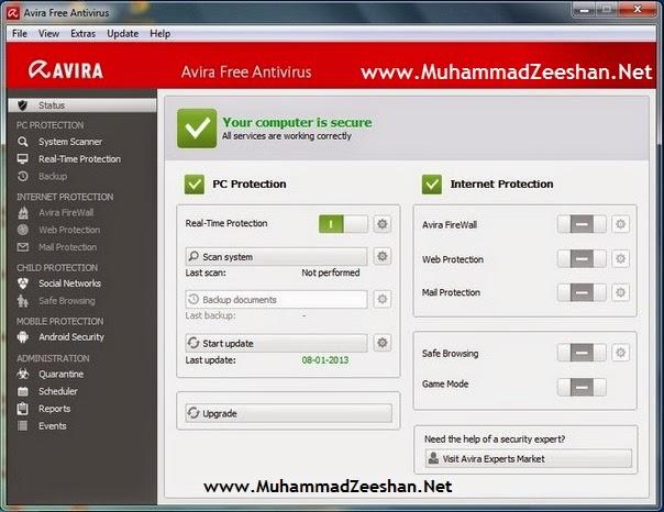 Avira Free Antivirus 14.0.3.350 Full Version