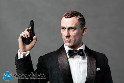 "DID Military Intelligence Section 6 (MI6) Agent ""Jack"" - AKA Daniel Craig as James Bond Figure"