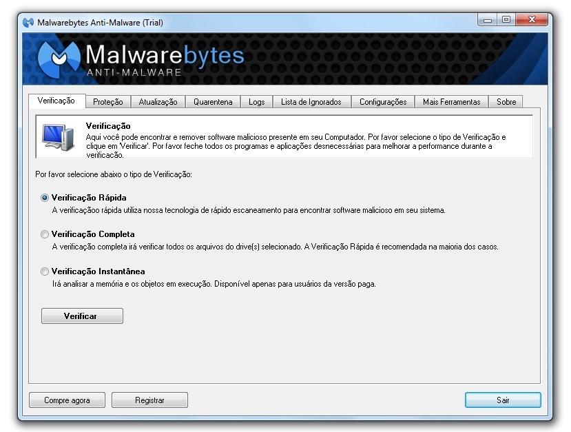 Imagem: Malwarebytes - AntiMalware