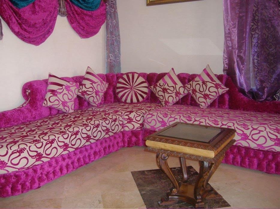 d coration salon marocain des mod les de salon marocain design moderne. Black Bedroom Furniture Sets. Home Design Ideas
