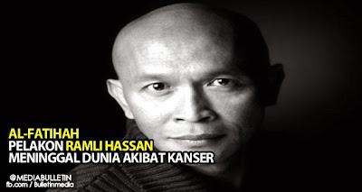 Al Fatihah Pelakon Ramli Hassan Meninggal Dunia Akibat Kanser