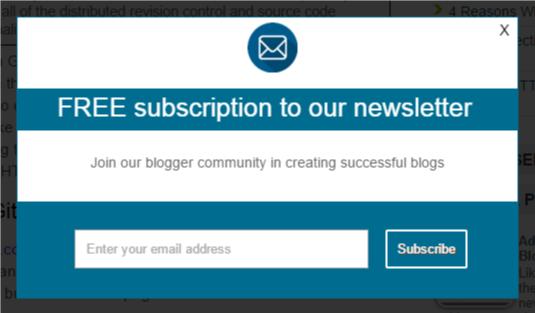 blue subscription box
