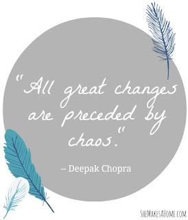 Chaos Precedes Change