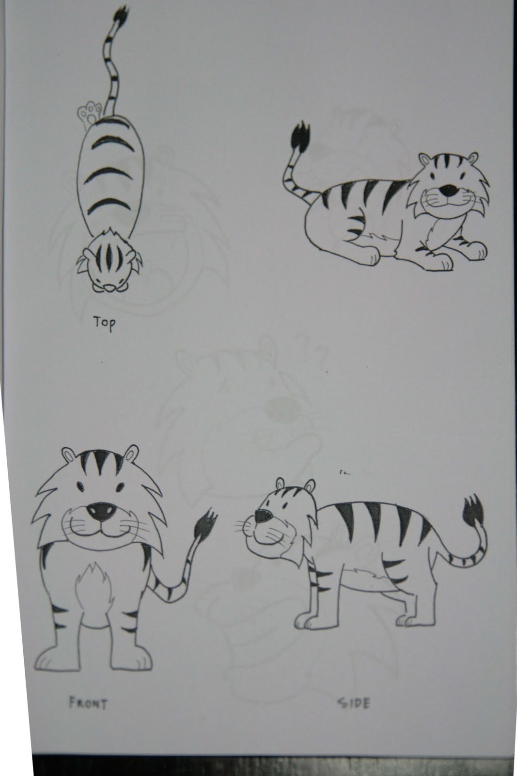 animation sketches pre animation