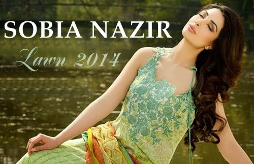 Sobia Nazir Exclusive Summer Wear Lawn Collection