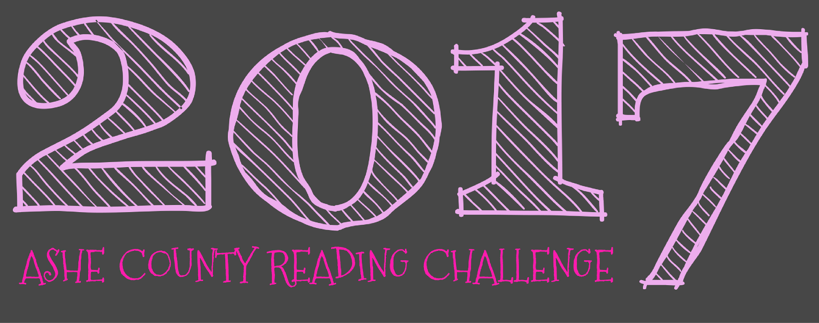 Ashe Library's 2017 Reading Challenge