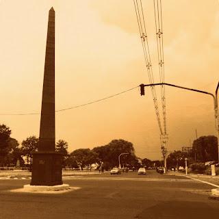 Obelisco: Marca a Retomada de Uruguaiana