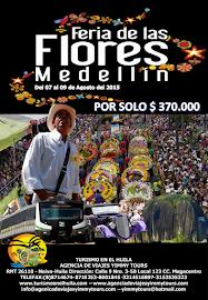 EXCURSIÓN TERRESTRE FERIAS DE LAS FLORES MEDELLIN