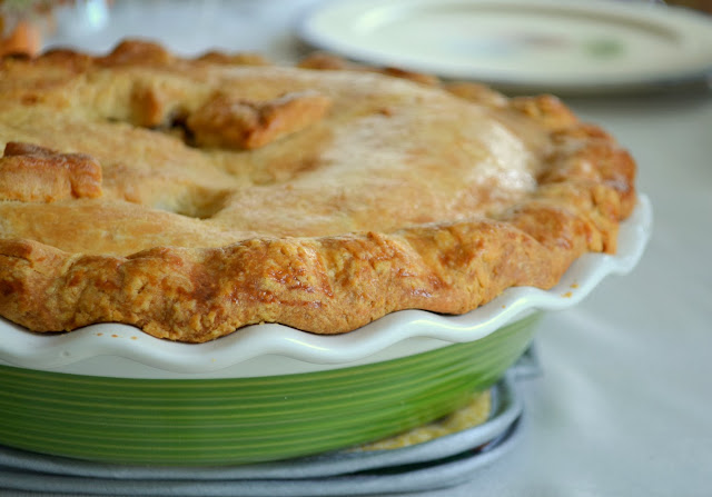 Hot Buttered Rum Apple Pie recipe