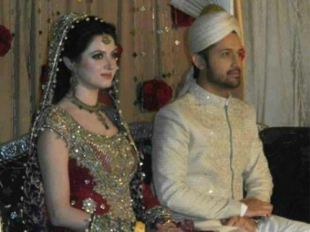Wedding Pictures Wedding Photos Atif Aslam Wedding Pictures With Sara Bharwana Shadi Photos