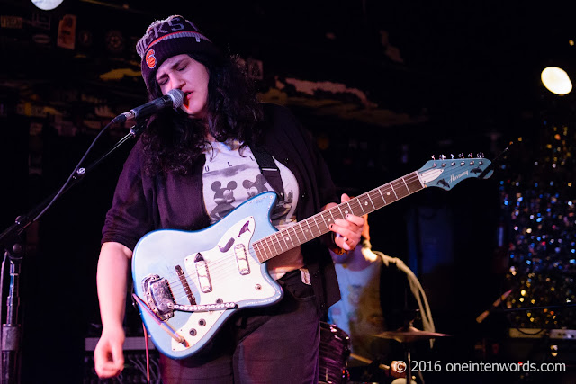 Palehound at The Legendary Horseshoe Tavern January 12, 2016  Photo by John at One In Ten Words oneintenwords.com toronto indie alternative music blog concert photography pictures