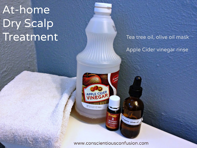 At home dry scalp treatment