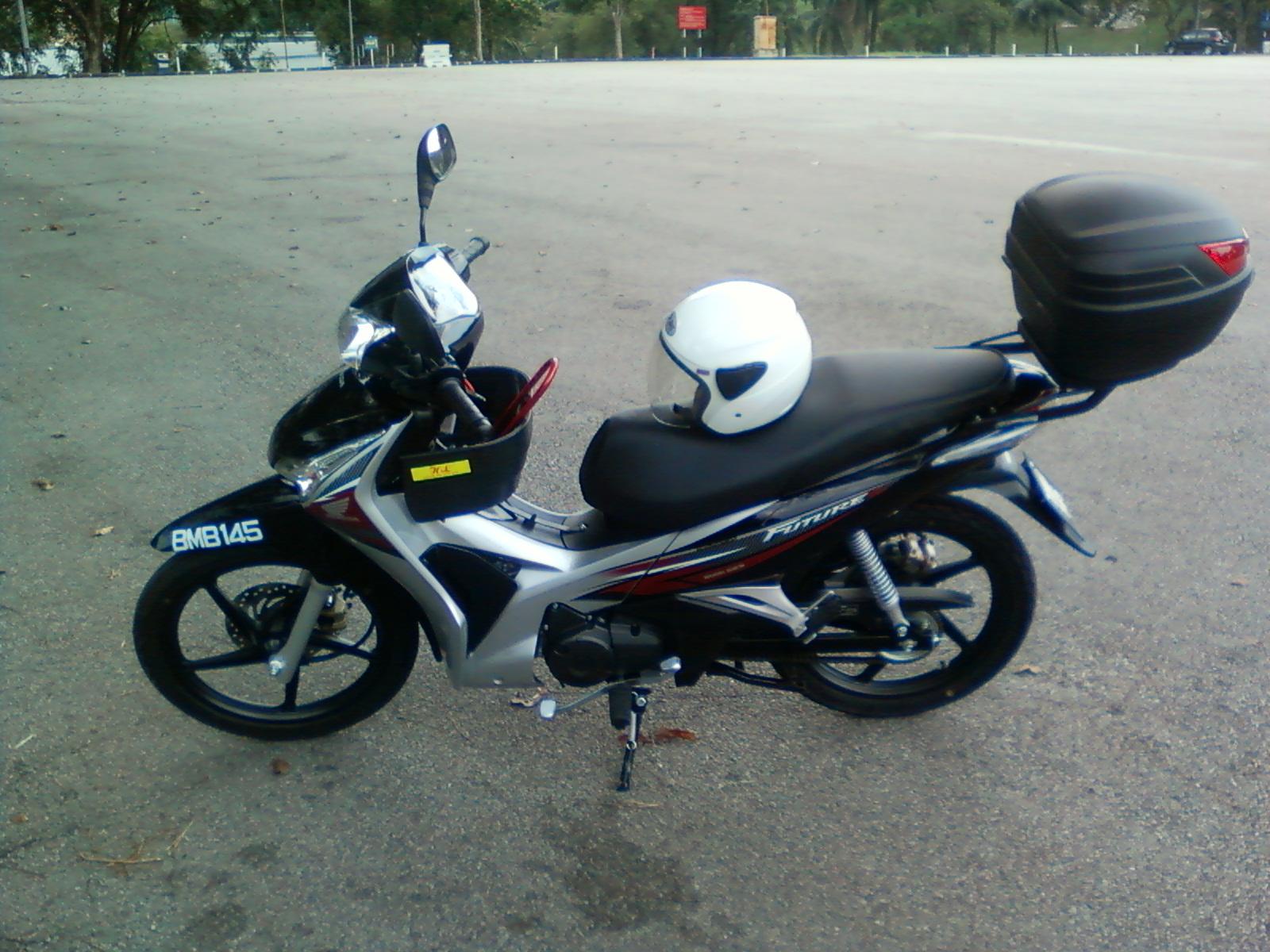 Honda Wave 125 Price >> Paradigm ~ Unyielding mind towards archievement: Honda Future 125cc - Crescent ride for my ...