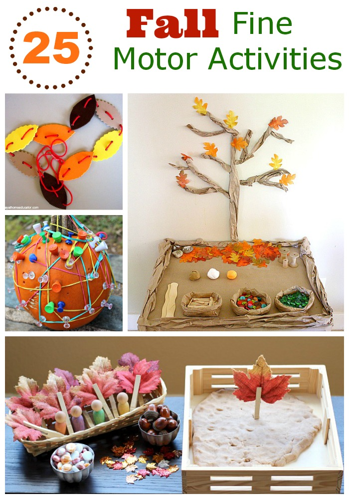 25 Fall Fine Motor Activities Mess For Less