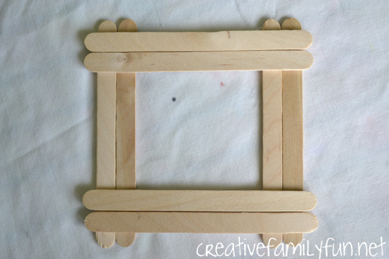 Classic Crafts ~ Craft Stick Frames - Creative Family Fun