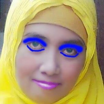 merias wajah dengan Photoshop