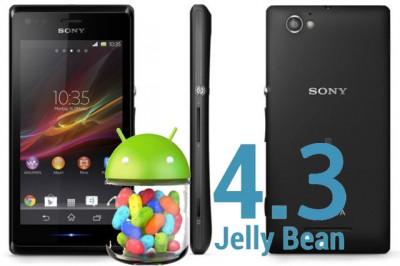 Android 4.3 untuk Sony Xperia M Segera Hadir?