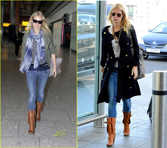 Boots: Gwyneth Paltrow's Style