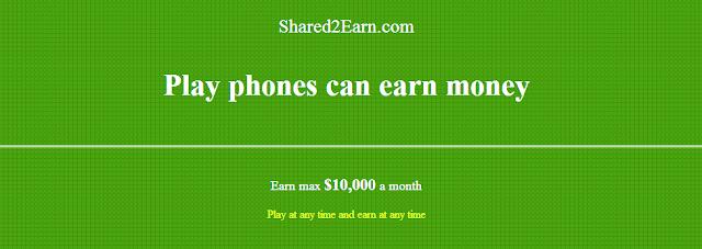 cara mengdapatkan dollar dari shar2earn.com