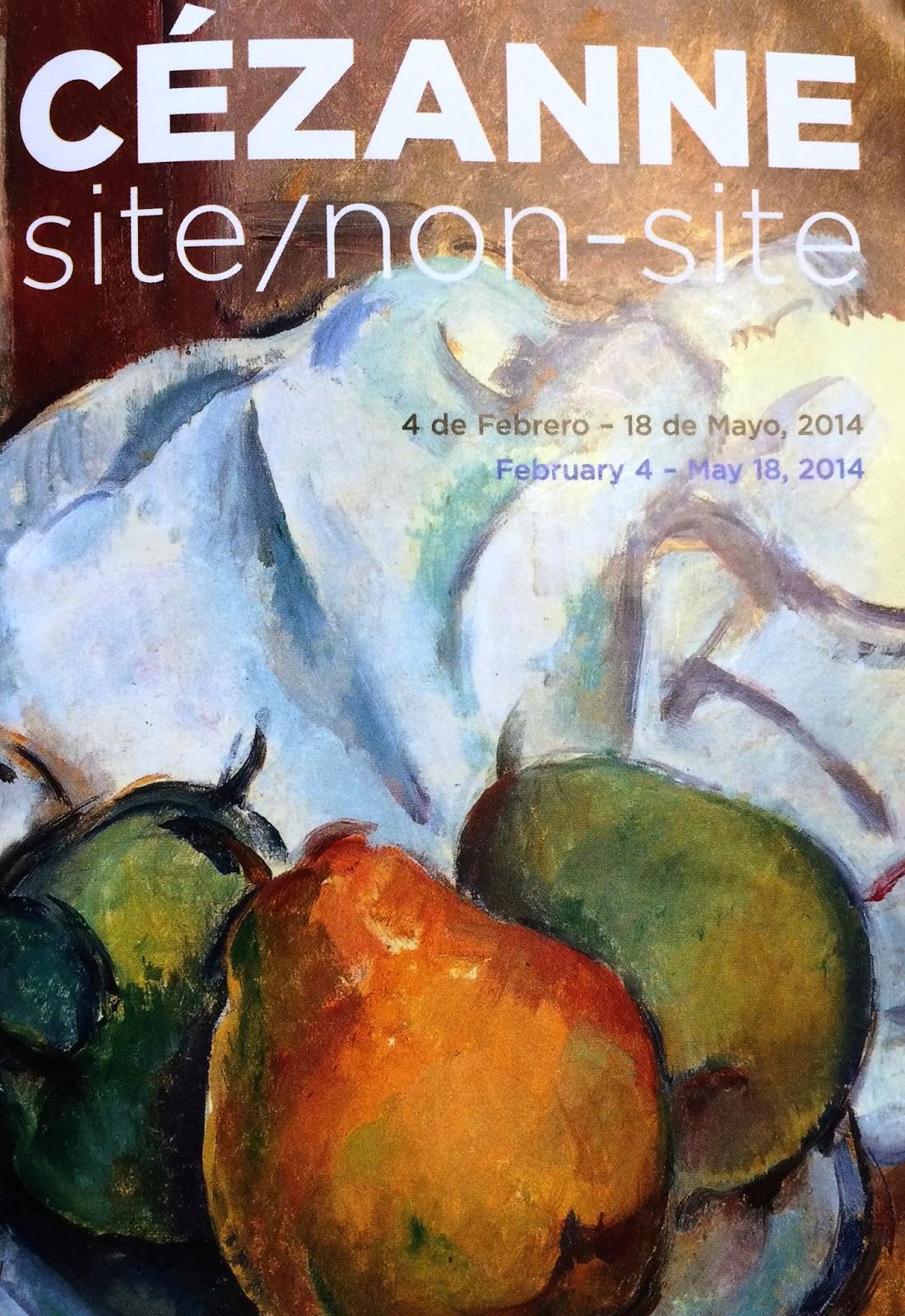 Cézanne site/non-site