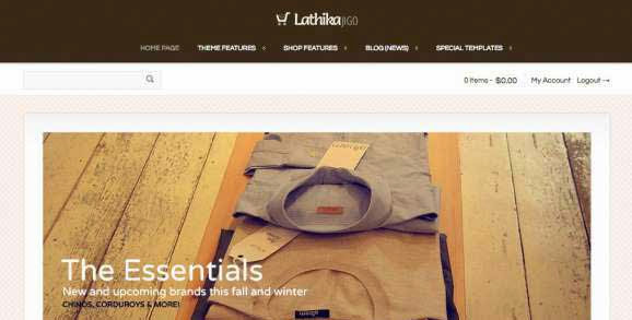 Lathika JigoShop - responsive e-Commerce theme