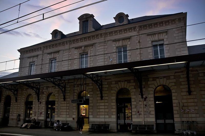 Train biarritz