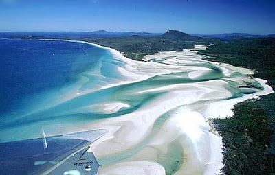 White Haven Sandy Beach Australia