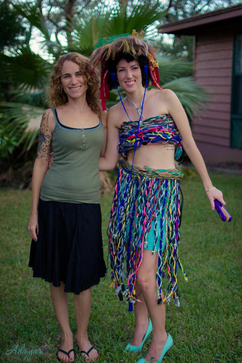 Designer Michelle Dorminey and Blogger/Model Meaghan Alvarado