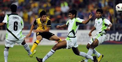perlawanan Pra Kelayakan Olimpik (pusingan kedua) di antara skuad Olimpik Pakistan Menentang Skuad Olimpik Malaysia