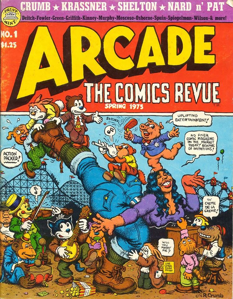 The great comic book heroes happy 67th birthday art spiegelman - Arcade spiegel ...