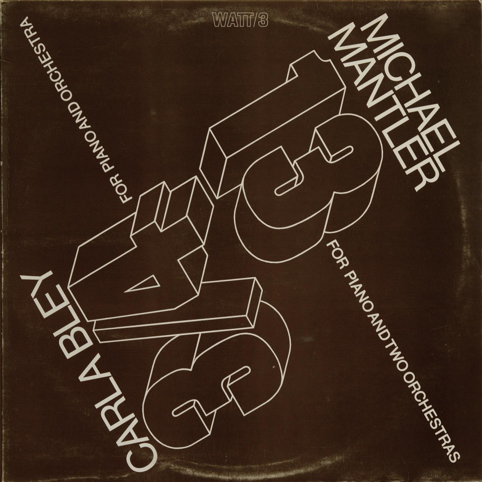 Carla Bley Mike Mantler Steve Lacy Jazz Realities