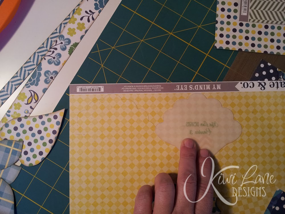Scallop border technique with Kiwi Lane designer templates -- www.MightyCrafty.me