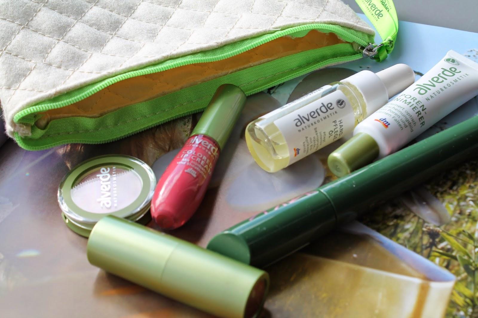 alverde Neuheiten / DM / Beauty / Blogger / Austrian Blogger / German Blogger / Lidschatten / Color Lip Cream / Hand Pflege Öl / Poren Minimierer / Mascara/