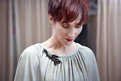 We love: Veerle Dobbelaere voor onze juwelencollectie Leaf me, don't Leaf me