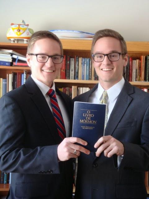 Elder Olsen and Elder Olsen