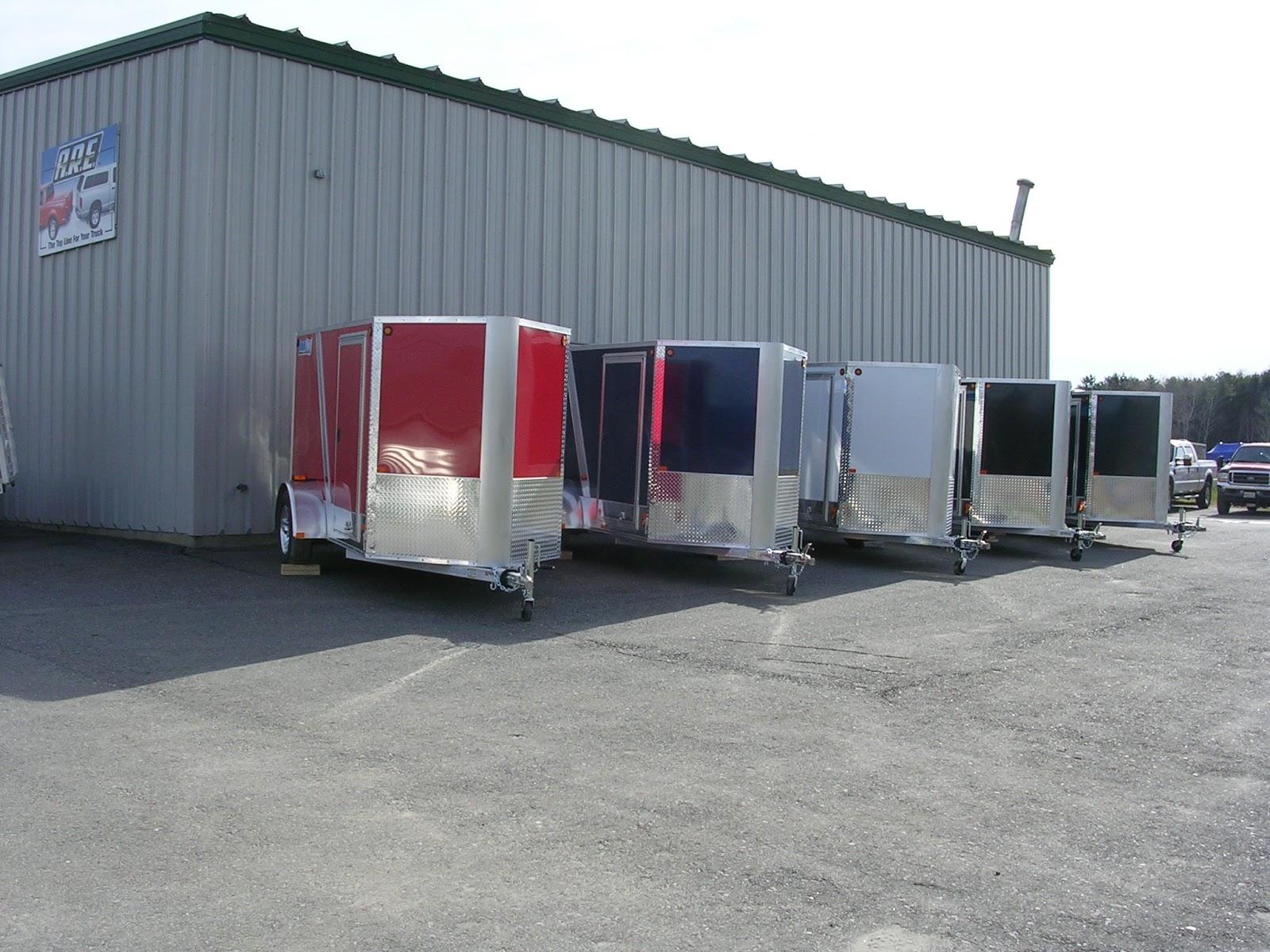 Michaud39s Trailers Winslow Maine Cargopro C5X10 Enclosed Cargo