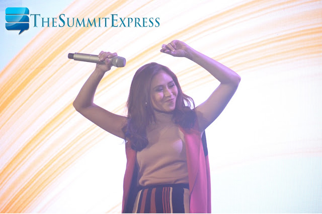 Sarah Geronimo OPPO launch event
