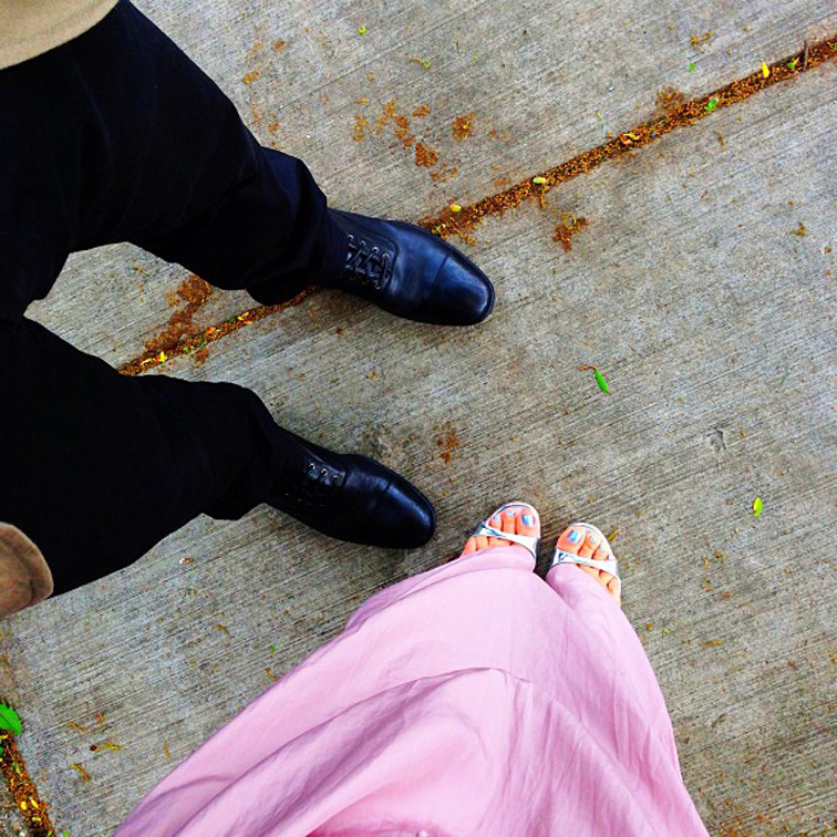 His & Hers Footwear Alexander McQueen Jimmy Choo