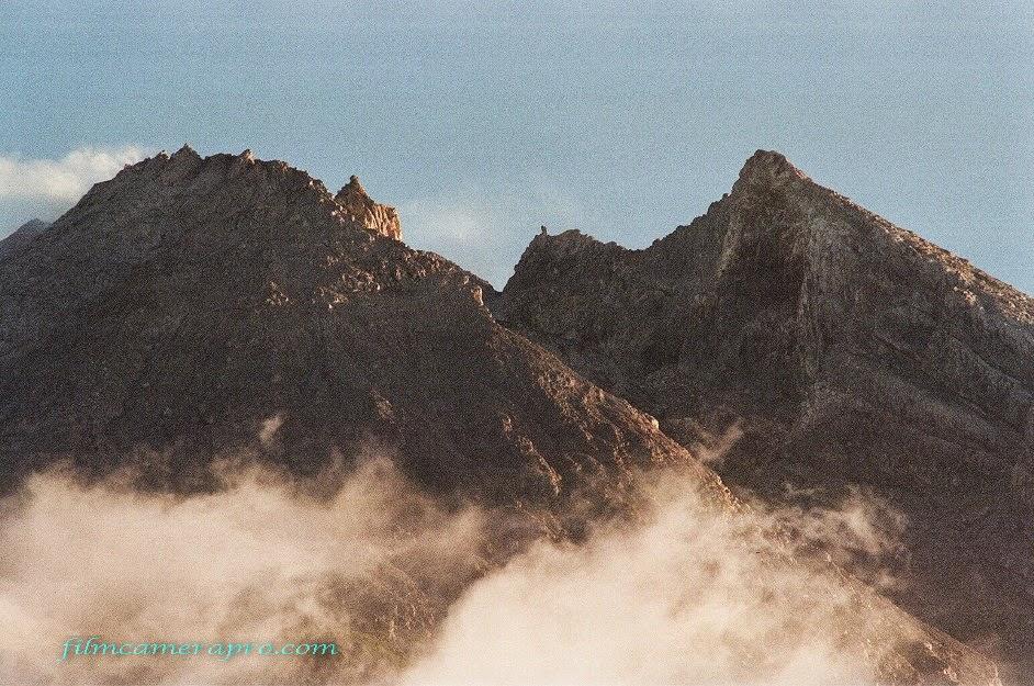 The Peak of Merapi