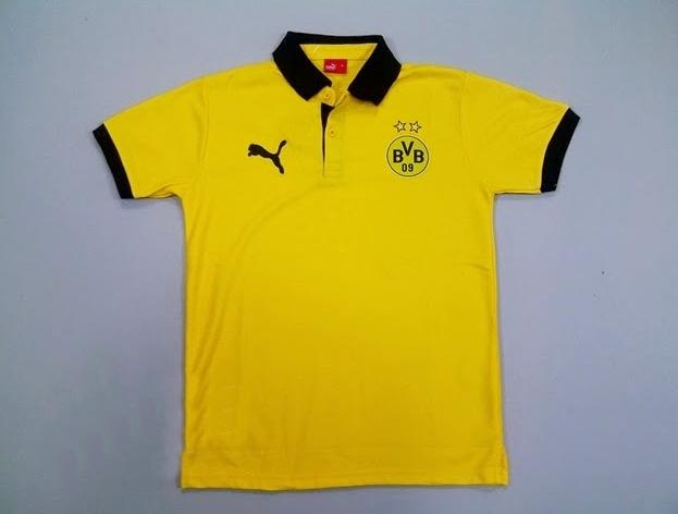 Polo Bodyfit Dortmund Kuning 2014-2015