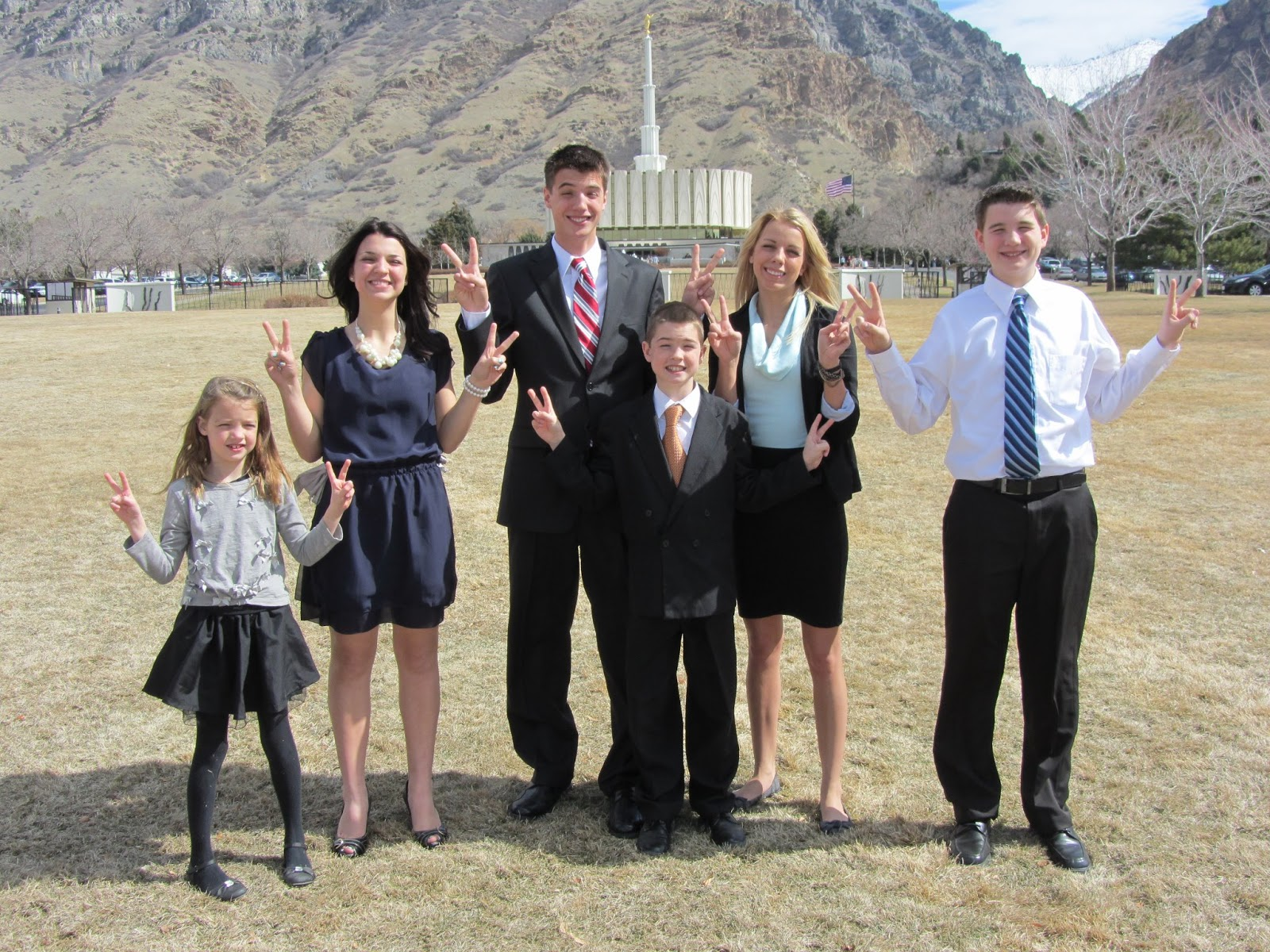 LDS Missionaries Provo Temple