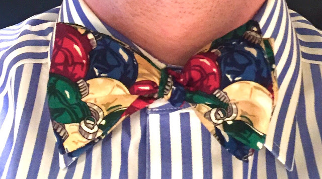 Bow tie pattern: the Whoville, from Beau Ties, Ltd. of Vermont