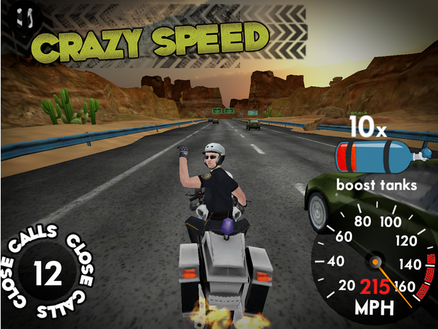 highway rider game for android