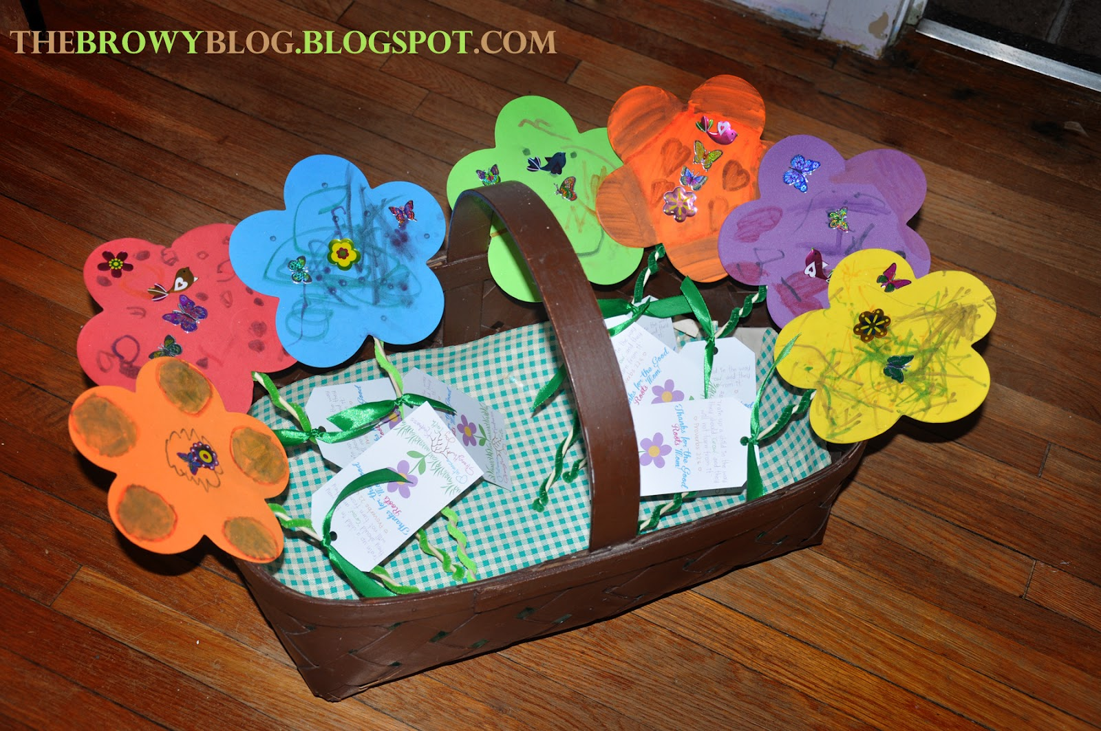 The browy blog mother 39 s day sunday school craft for Bible school crafts for toddlers