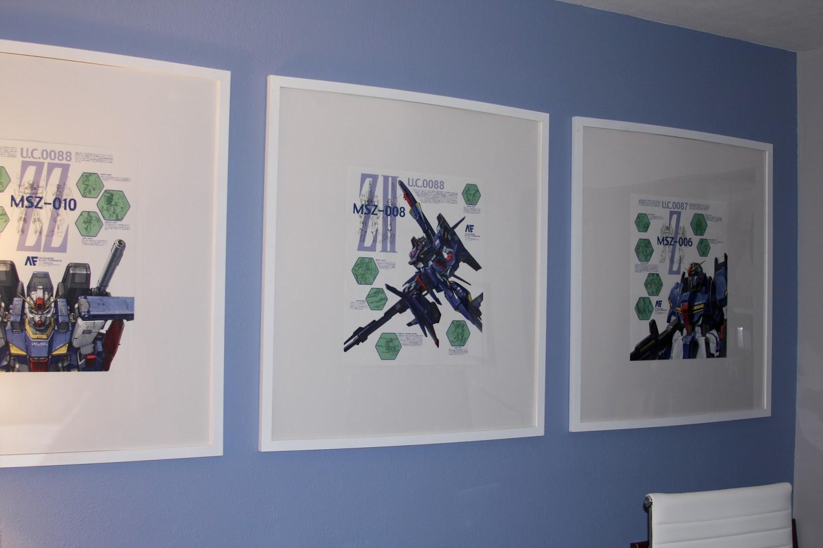 Diy Calendar Wall Art : Geek diy bam calendar page picture frame wall art