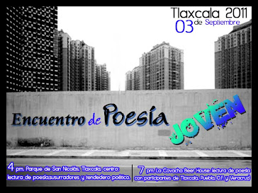 Encuentro de Poesía Joven Tlaxcala