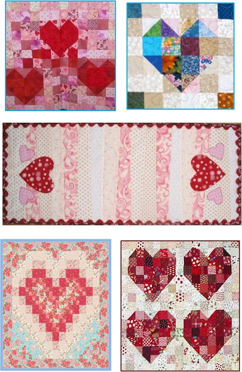 Quilt Patterns Heart Free : Quilt Inspiration: Free Pattern Day: Hearts and Valentines Part 2