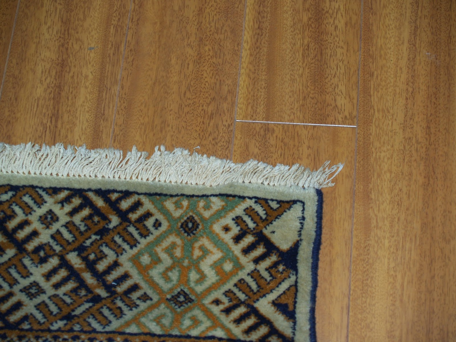 how to clean fringe on oriental rug