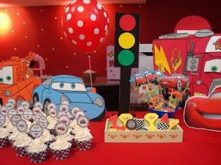 Children parties, cars decoration